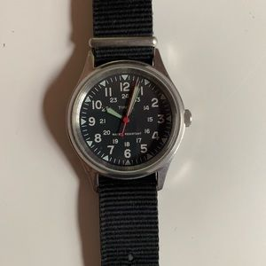 Timex for J Crew Military Watch w/5 Bands - 36mm